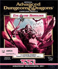 Box cover for Eye of the Beholder on the Commodore Amiga.