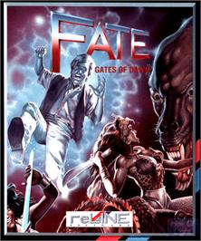 Box cover for Fate: Gates of Dawn on the Commodore Amiga.