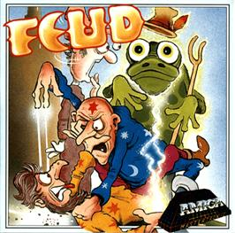 Box cover for Feud on the Commodore Amiga.