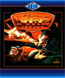 Box cover for Fire Force on the Commodore Amiga.