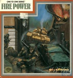 Box cover for Fire Power on the Commodore Amiga.