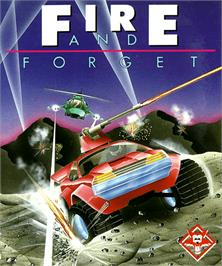Box cover for Fire and Forget on the Commodore Amiga.
