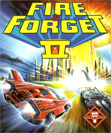 Box cover for Fire and Forget 2: The Death Convoy on the Commodore Amiga.