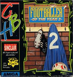 Box cover for Footballer of the Year 2 on the Commodore Amiga.