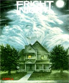 Box cover for Fright Night on the Commodore Amiga.