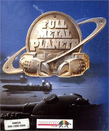 Box cover for Full Metal Planete on the Commodore Amiga.