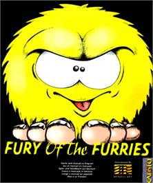 Box cover for Fury of the Furries on the Commodore Amiga.