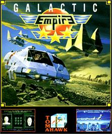 Box cover for Galactic Empire on the Commodore Amiga.