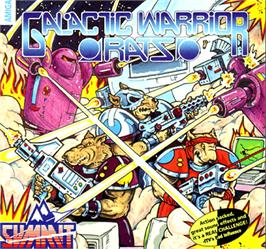 Box cover for Galactic Warrior Rats on the Commodore Amiga.