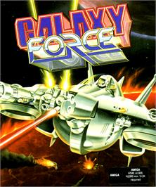 Box cover for Galaxy Force 2 on the Commodore Amiga.