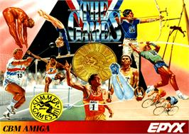 Box cover for Games: Summer Edition on the Commodore Amiga.