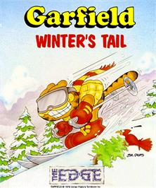 Box cover for Garfield: Winter's Tail on the Commodore Amiga.