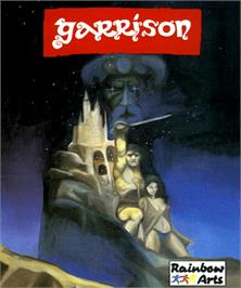 Box cover for Garrison on the Commodore Amiga.
