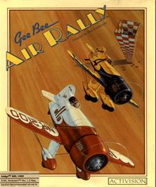 Box cover for Gee Bee Air Rally on the Commodore Amiga.