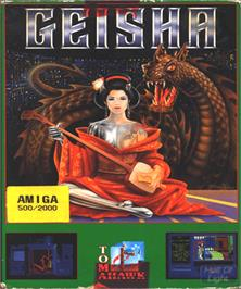 Box cover for Geisha on the Commodore Amiga.