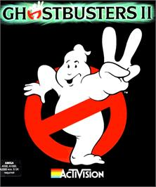 Box cover for Ghostbusters 2 on the Commodore Amiga.
