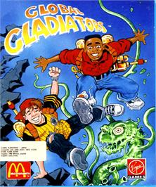 Box cover for Global Gladiators on the Commodore Amiga.