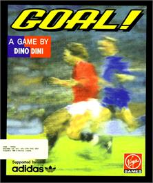 Box cover for Goal on the Commodore Amiga.