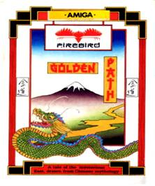 Box cover for Golden Path on the Commodore Amiga.