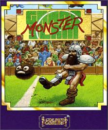 Box cover for Grand Monster Slam on the Commodore Amiga.