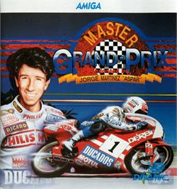 Box cover for Grand Prix Master on the Commodore Amiga.