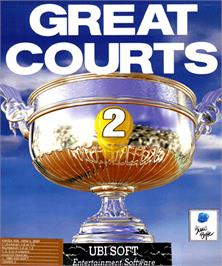 Box cover for Great Courts 2 on the Commodore Amiga.