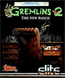 Box cover for Gremlins 2: The New Batch on the Commodore Amiga.