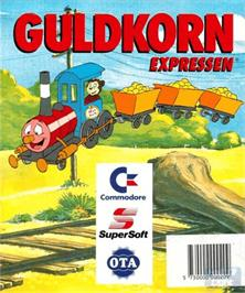 Box cover for Guldkorn Expressen on the Commodore Amiga.