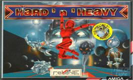 Box cover for Hard 'n Heavy on the Commodore Amiga.
