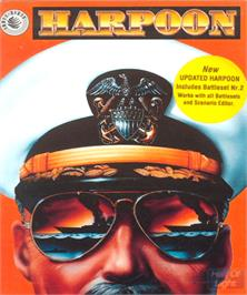 Box cover for Harpoon & Battleset 2 on the Commodore Amiga.