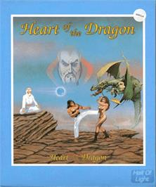 Box cover for Heart of the Dragon on the Commodore Amiga.