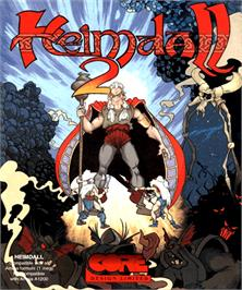Box cover for Heimdall 2: Into the Hall of Worlds on the Commodore Amiga.