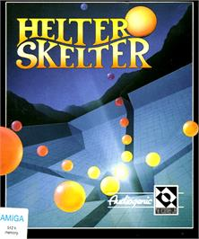 Box cover for Helter Skelter on the Commodore Amiga.