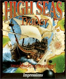 Box cover for High Seas Trader on the Commodore Amiga.