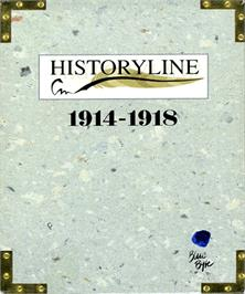 Box cover for Historyline: 1914 - 1918 on the Commodore Amiga.