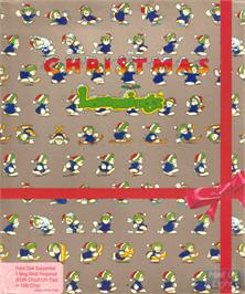 Box cover for Holiday Lemmings on the Commodore Amiga.