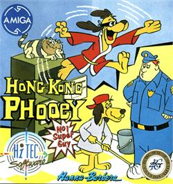 Box cover for Hong Kong Phooey: No.1 Super Guy on the Commodore Amiga.