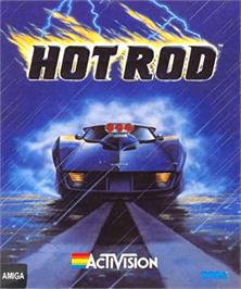 Box cover for Hot Rod on the Commodore Amiga.