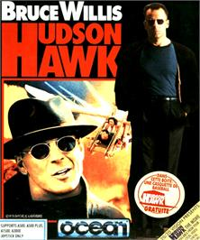 Box cover for Hudson Hawk on the Commodore Amiga.