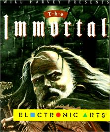 Box cover for Immortal on the Commodore Amiga.