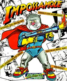 Box cover for Impossamole on the Commodore Amiga.