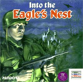 Box cover for Into the Eagle's Nest on the Commodore Amiga.