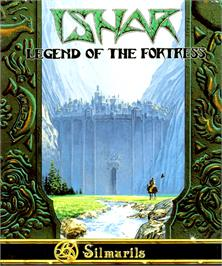 Box cover for Ishar: Legend of the Fortress on the Commodore Amiga.
