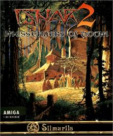 Box cover for Ishar 2: Messengers of Doom on the Commodore Amiga.