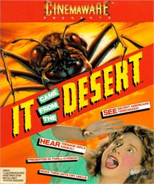 Box cover for It Came from the Desert on the Commodore Amiga.