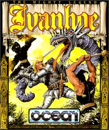 Box cover for Ivanhoe on the Commodore Amiga.