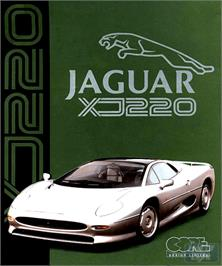 Box cover for Jaguar XJ220 on the Commodore Amiga.