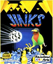 Box cover for Jinks on the Commodore Amiga.