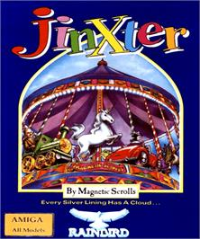 Box cover for Jinxter on the Commodore Amiga.