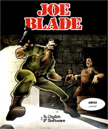 Box cover for Joe Blade on the Commodore Amiga.